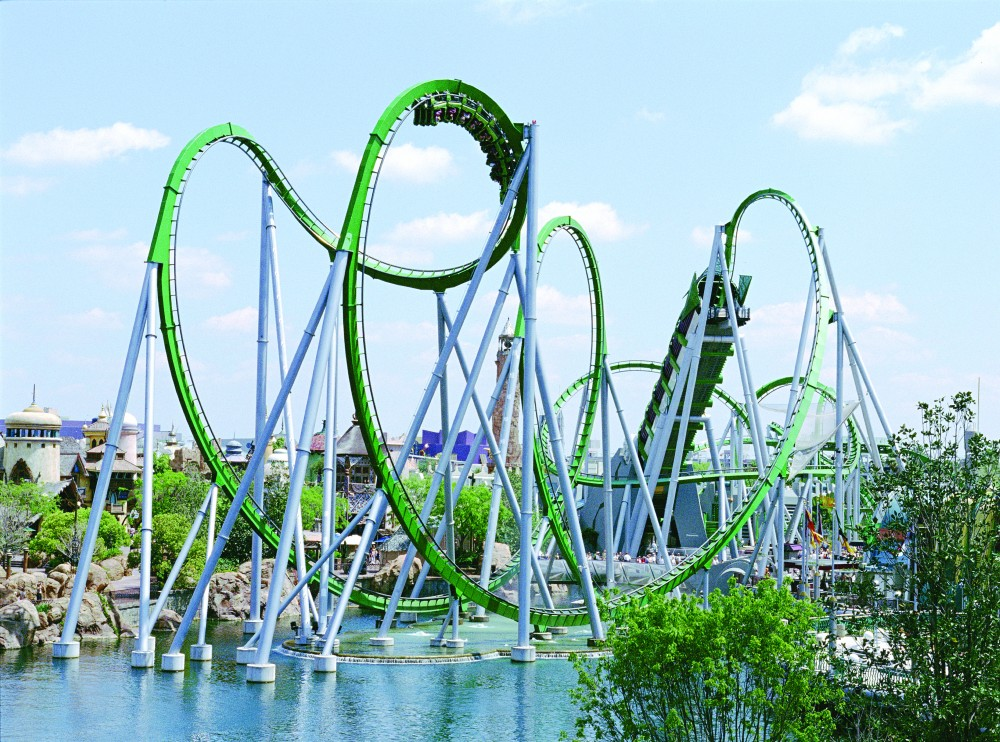 Incredible Hulk Coaster, Florida
