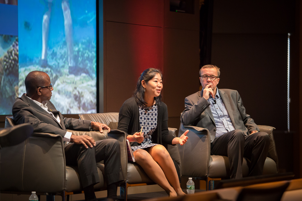 Nanae Singeo led discussion on the Profit and Planet panel at Destination Think Forum 2016