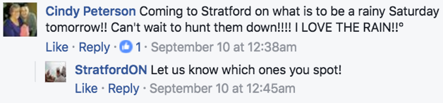 RTO4 Facebook comment