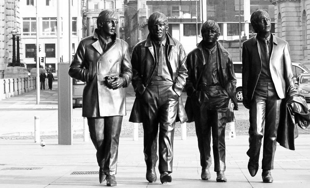 Beatles statue, Liverpool