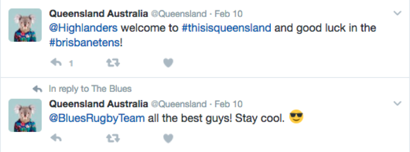 Queensland tweets