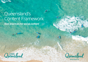 Tourism and Events Queensland Content Framework
