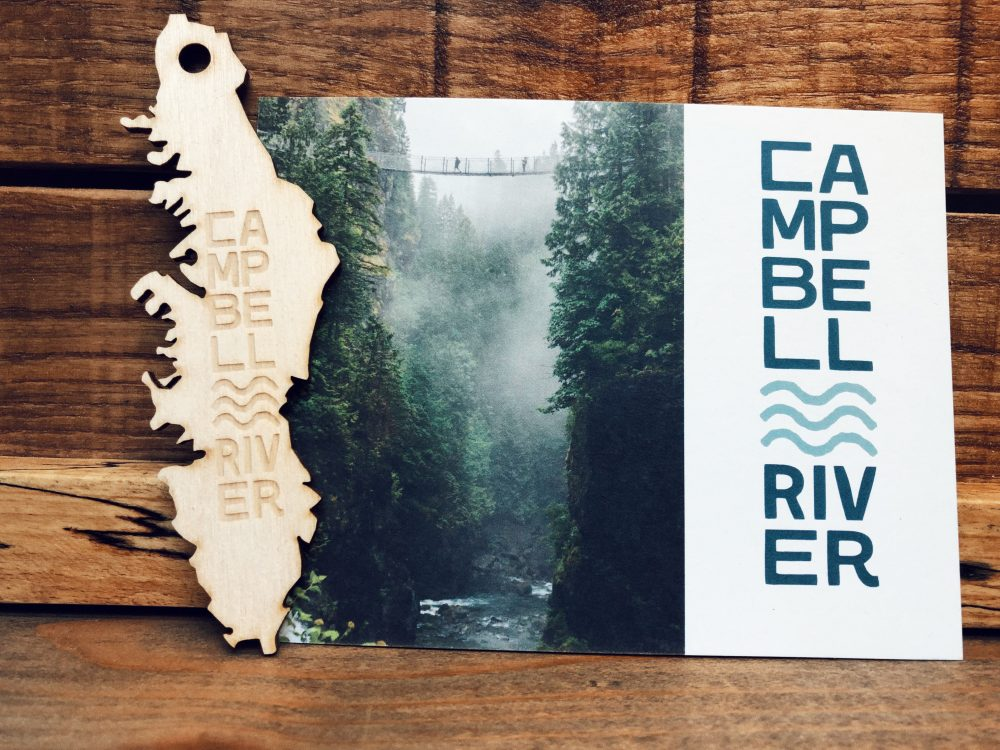 Campbell River postcard
