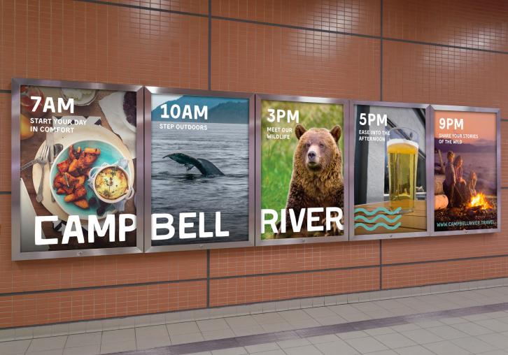 Campbell River Skytrain ad mockup