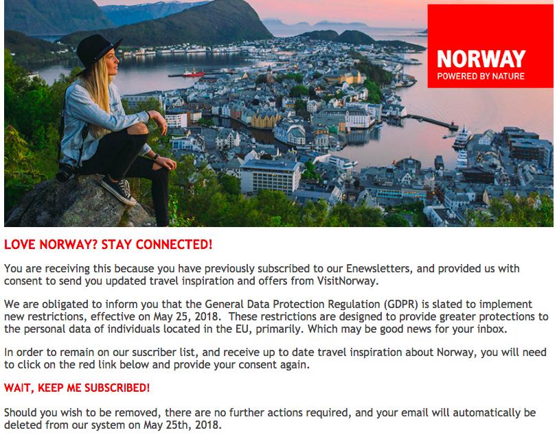 Visit Norway GDPR