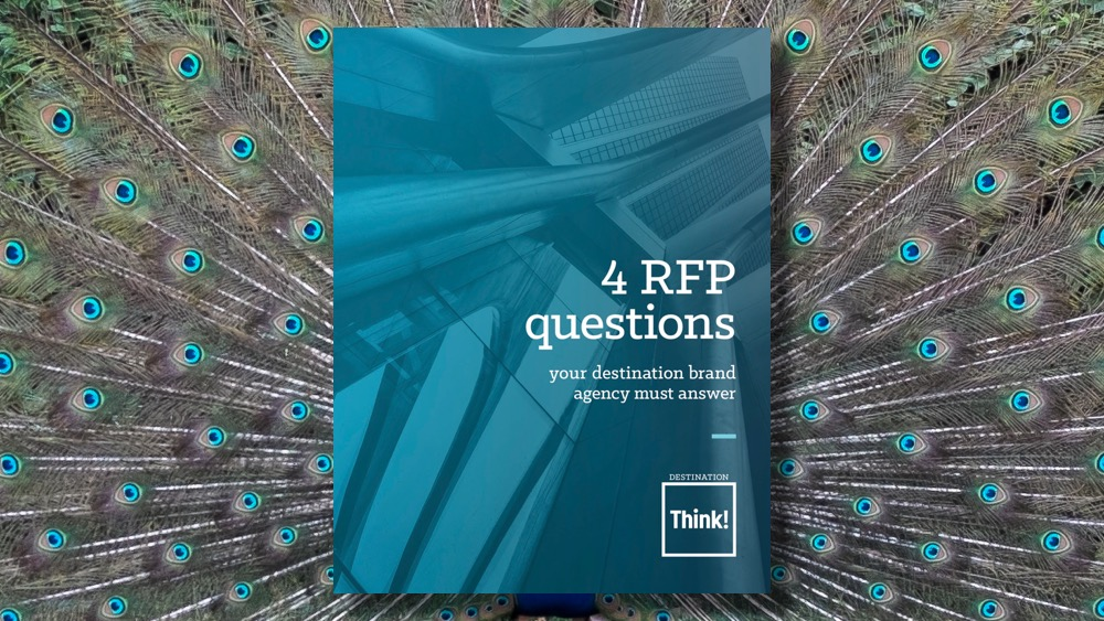Now available: 4 RFP questions your destination brand agency