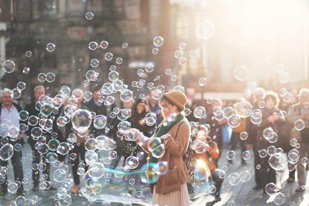 Bubbles in the city
