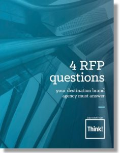 White paper: 4 RFP questions your destination brand agency must answer