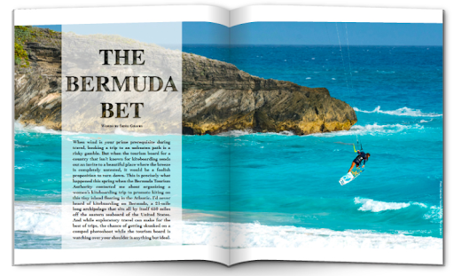 The Kiteboarder magazine