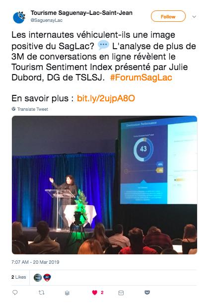 Tourisme Saguenay-Lac-Saint-Jean tweet